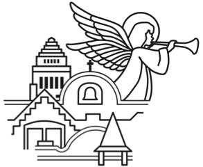 Angelitas b&w logo